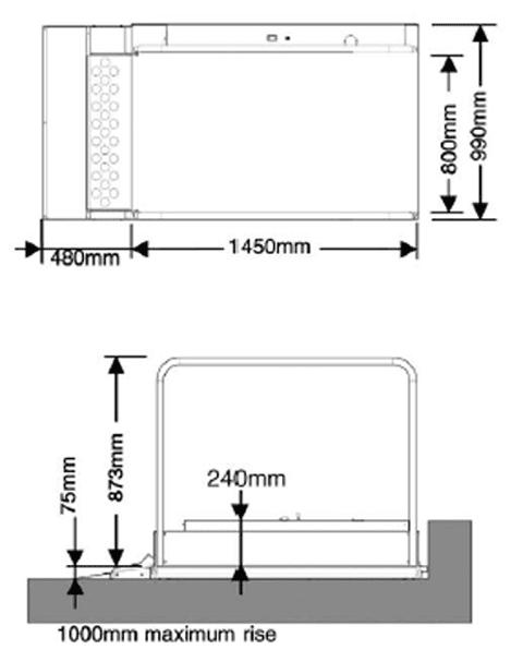 Wessex-Black-Chrome-step-lift