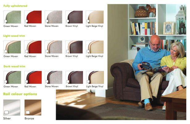 Stairlift-design-upholstery-options